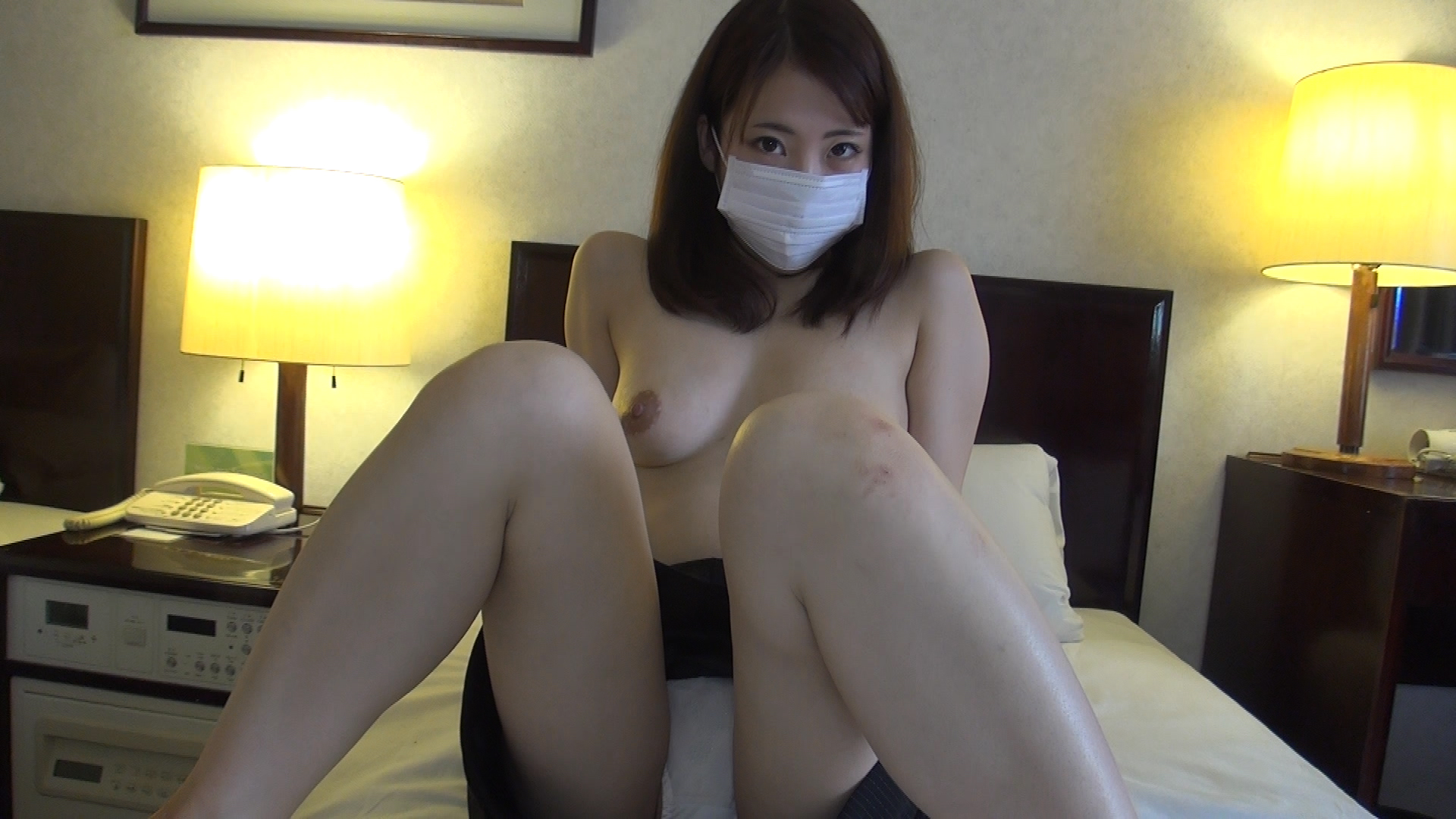 FC2 PPV 389809 shooting in the slender, natural, cute Kana-CHAN who wanted to take off!