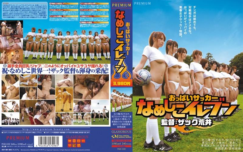 PGD-532 Titty Soccer – Nameshiko's Eleven