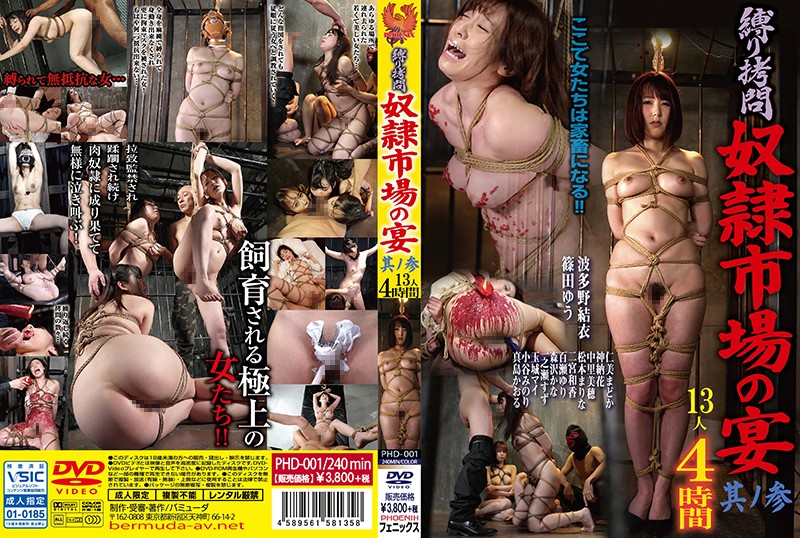 PHD-001 Tortured Bondage The Slave Town Banquet Chapter Three