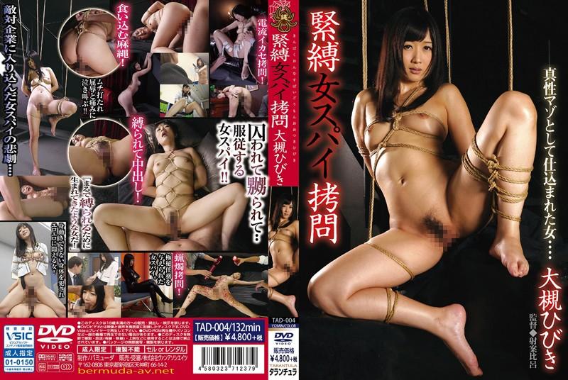TAD-004 S&M: Female Spy Torture Hibiki Otsuki