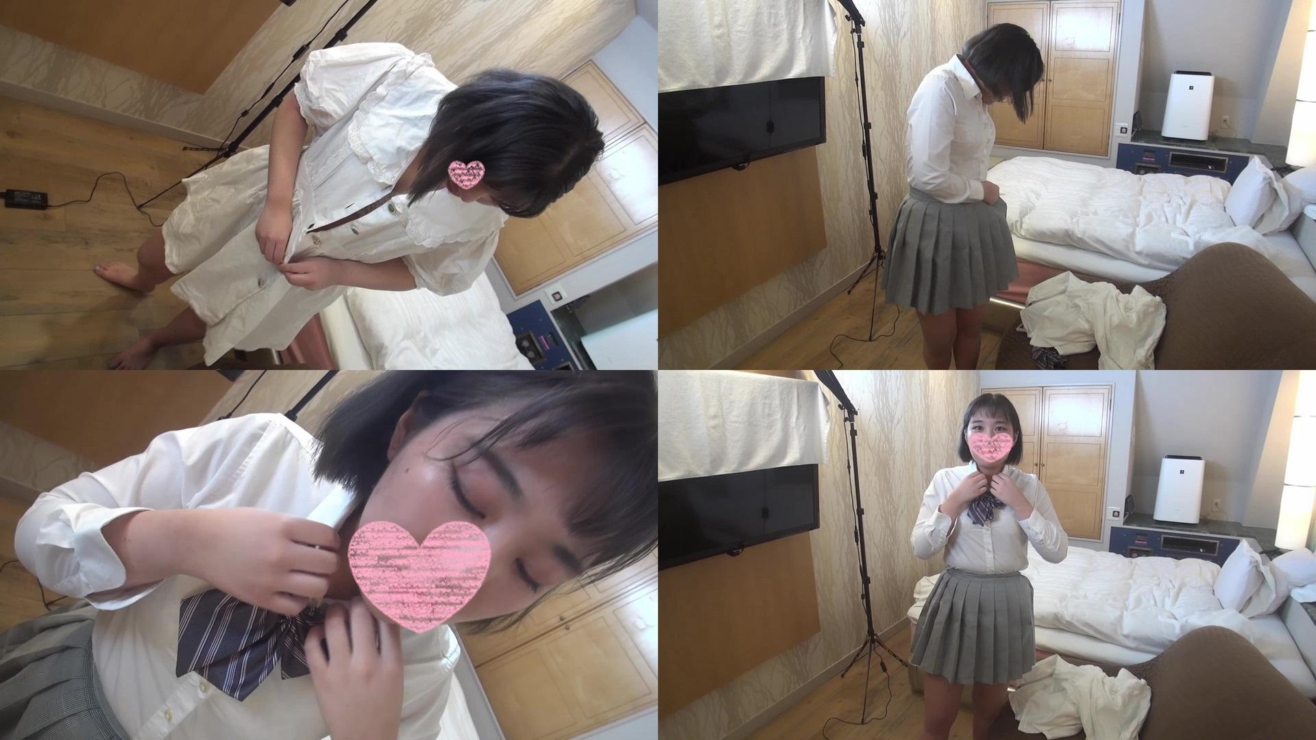 FC2 PPV 1463564 Life's first 3P ❤ Ubu Ubu daughter ❤️ Unprocessed pubic hair ❤️ Kitsuman Hyundaikko got a