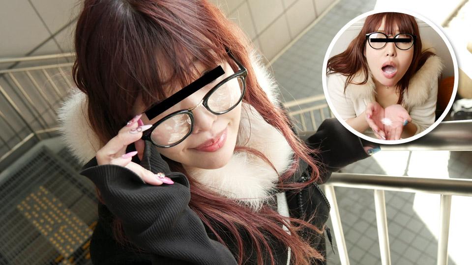 Pacopacomama 020120_249 Natsuki Kikuta Cum 100 married women-a mature woman who looks good in glasses likes semen-