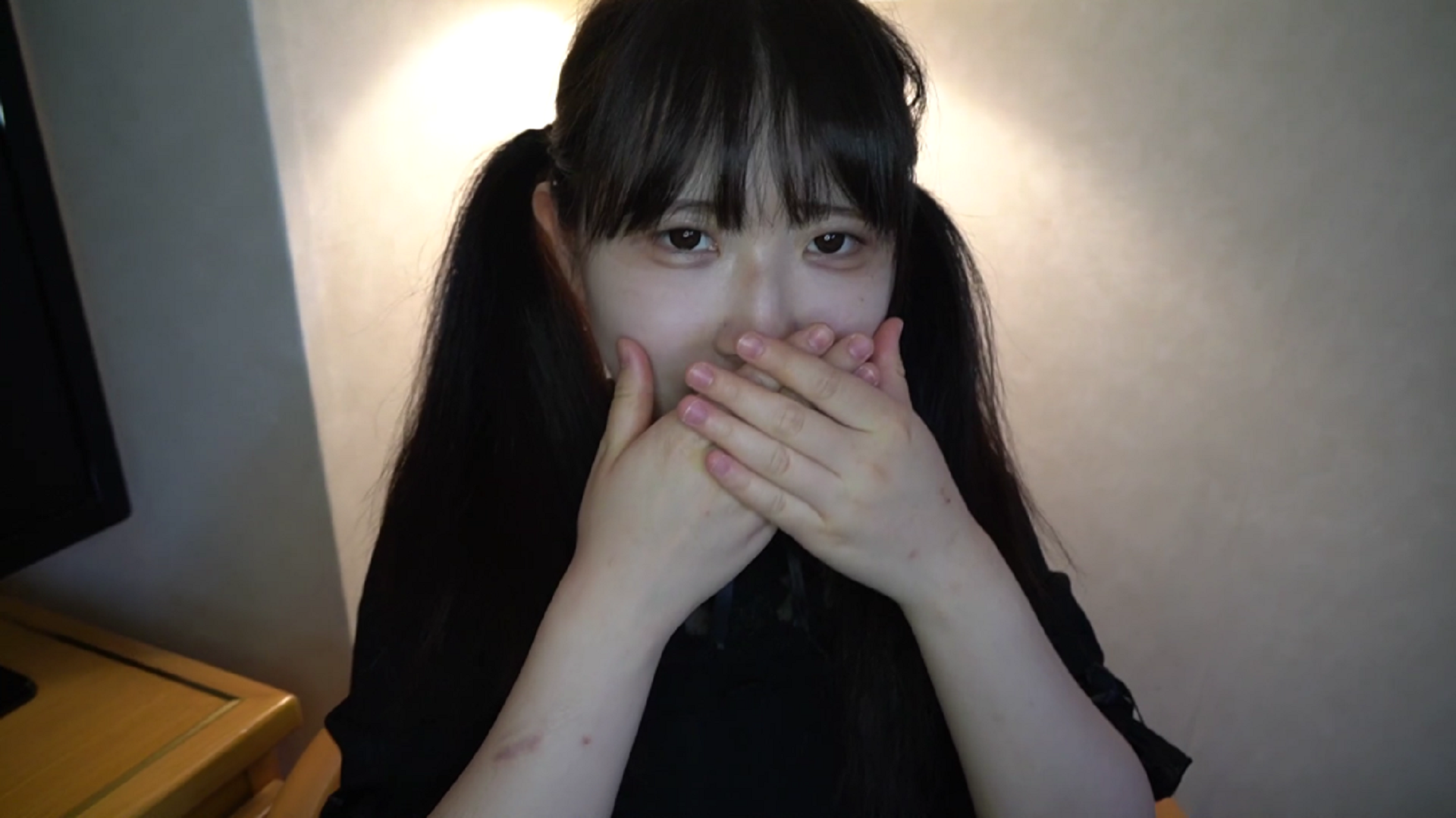FC2 PPV 1507830 Akari 20-year-old maid cafe clerk ★ Twin tail Moe Moe beauty is an anime voice М woman! I