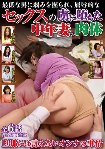 VNDS-3343 最低な男に弱みを握られ、屈辱的なセックスの虜に堕ちた中年妻の肉体