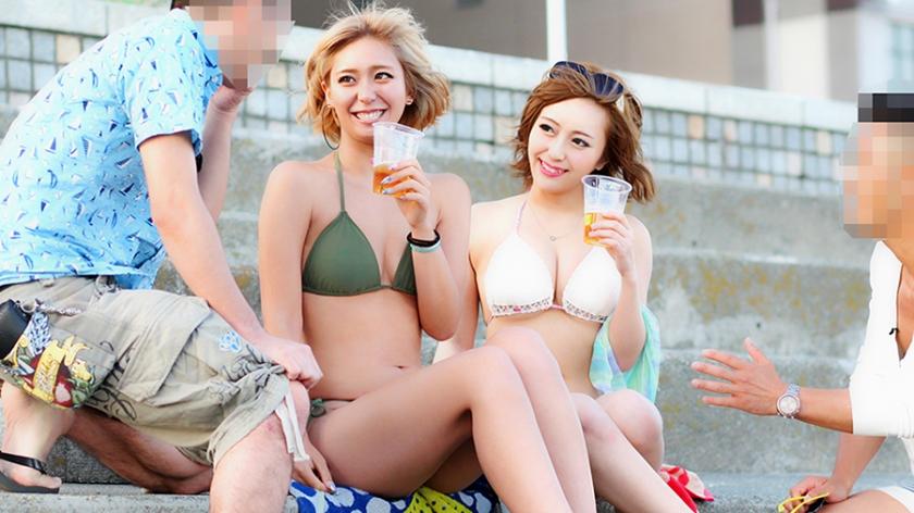 274ETQT-150 Black gal Nana-chan & White gal Chiaki-chan