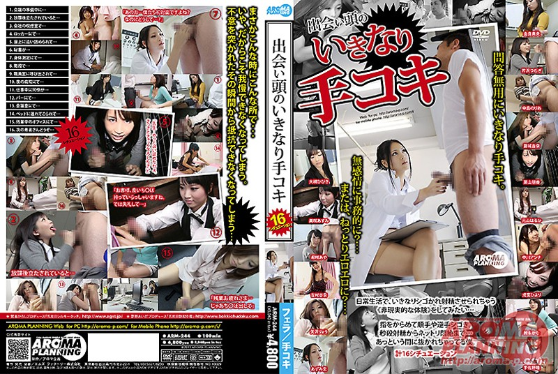 ARM-244 Handjob Right After First Meeting