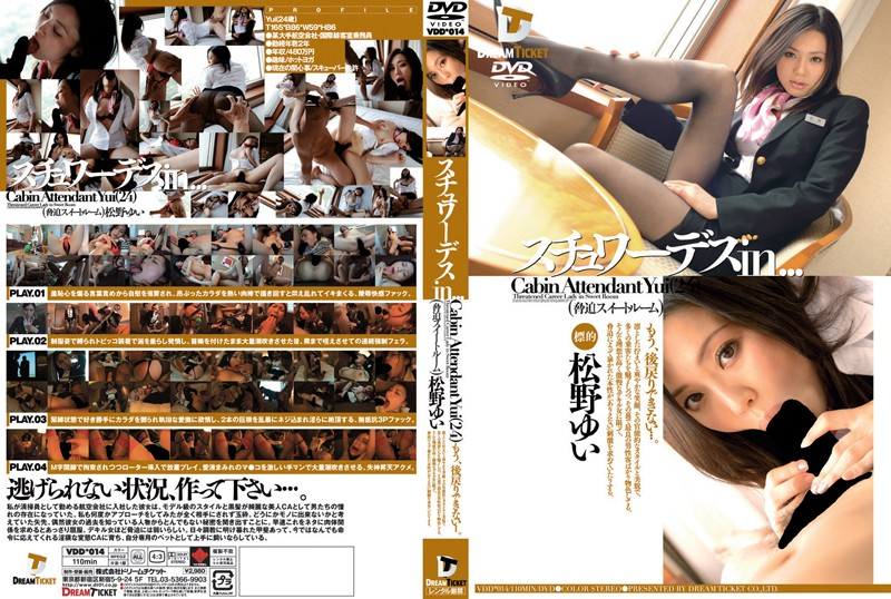 VDD-014 Stewardess in… (Threatening Sweet Room) Cabin Attendant Yui (24)