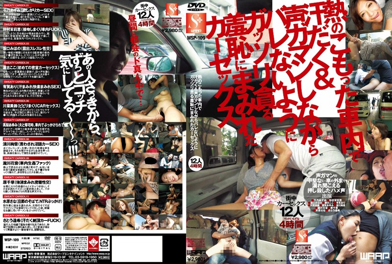WSP-109 Enjoy The Pleasure And Shame Of Car Sex In A Hot And Sweaty Car While Trying Desperately