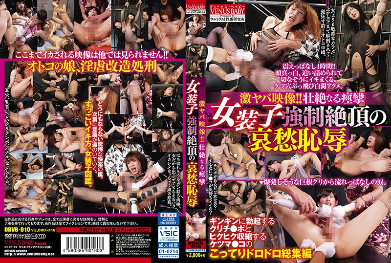 DBVB-010 Shocking Footage! – Uncontrollable Spasms – Sorrow And Embarrassment For A Cross-Dresser