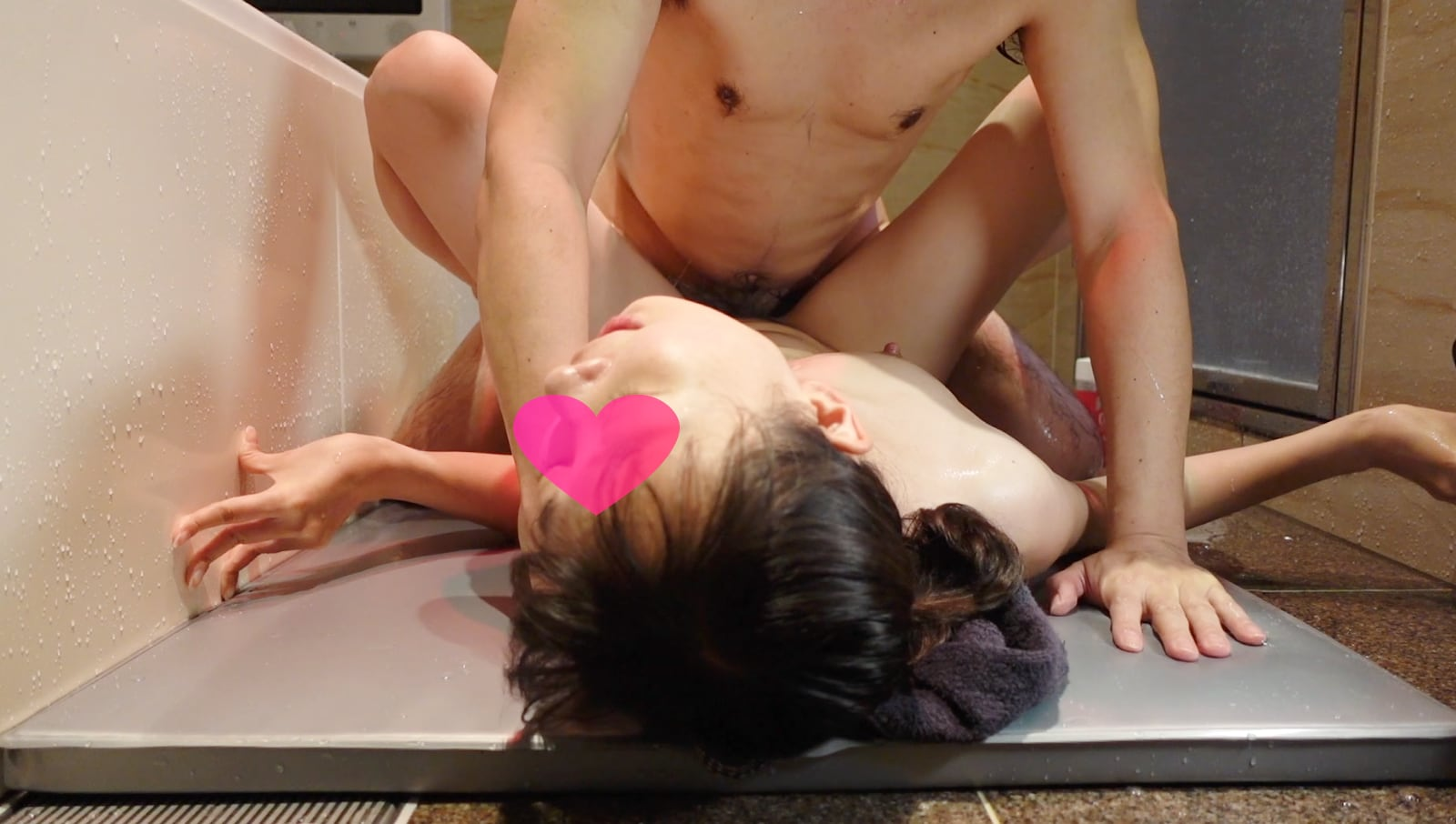 FC2 PPV 1641658 2nd round of vaginal cum shot with pseudo soap play on mat ❤️ Beautiful breasts of Mayumi