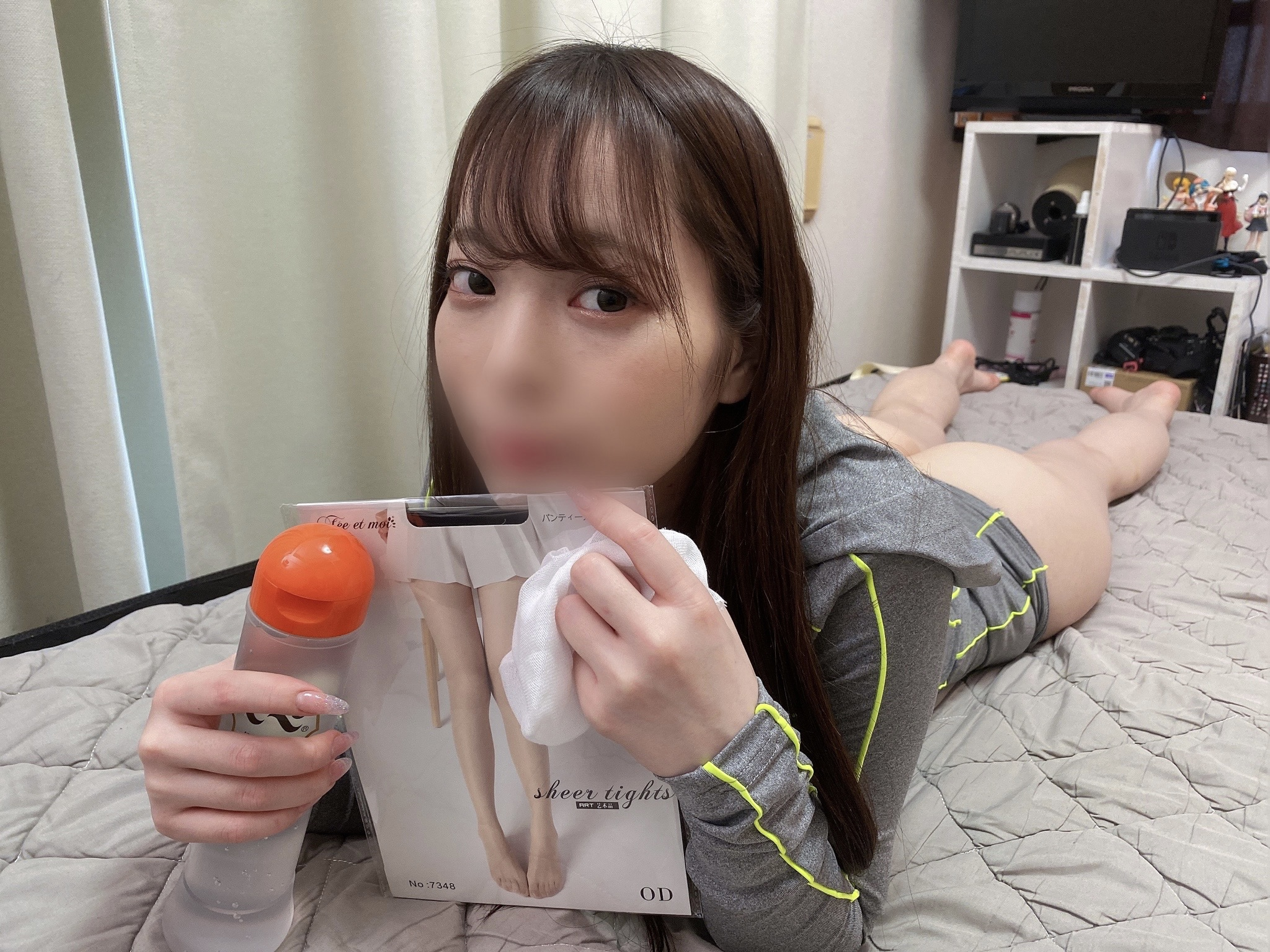 FC2 PPV 1830366 If you endure for 5 minutes, vaginal cum shot is OK. Hime-chan x lotion gauze x lotion